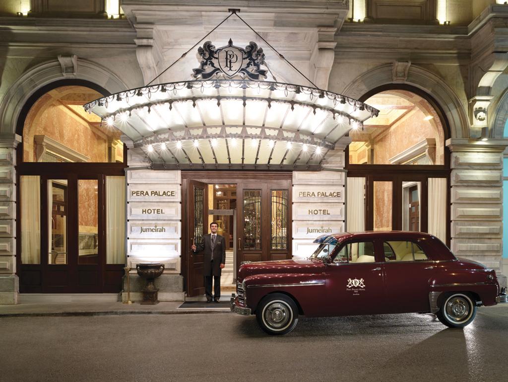 Pera Palace Hotel, Jumeirah-Entrance