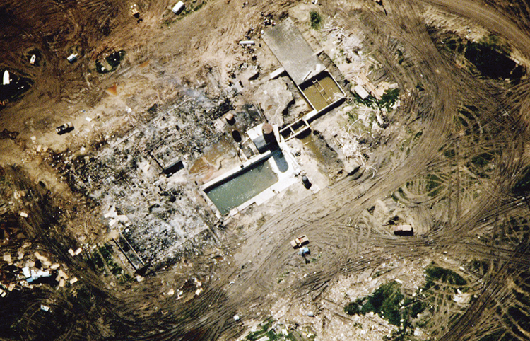 The Davidian Sect Ranch in Waco
