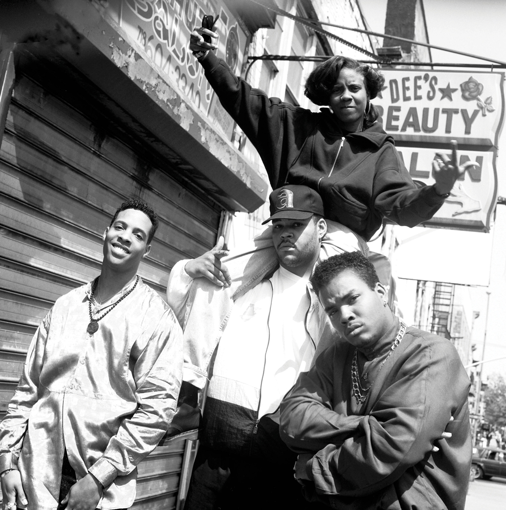 Considered one of hip hop's pioneer feminists, Lyte recorded her first song, I Cram To Understand U (Sam), in 1986 about a relationship that fell apart. I love the way she is coming on so strong in the photo and the beauty shop sign in the background is so Brooklyn