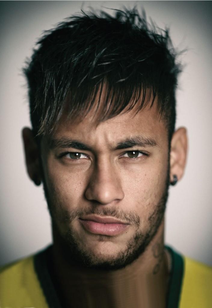 Neymar on Emirates Man Cover