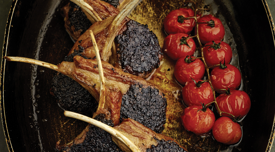 Lamb-Chops-with-Black-Olives